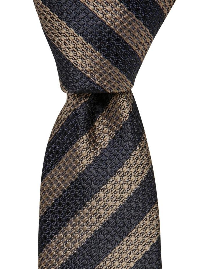 Stripe Tie Brown image 1