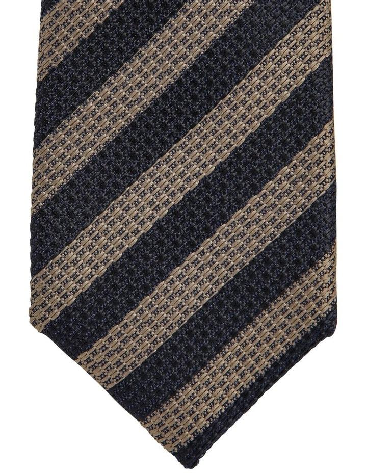 Stripe Tie Brown image 2