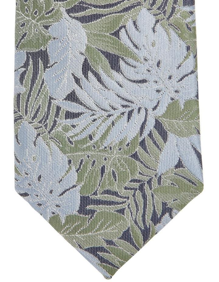 Floral Tie Blue image 2