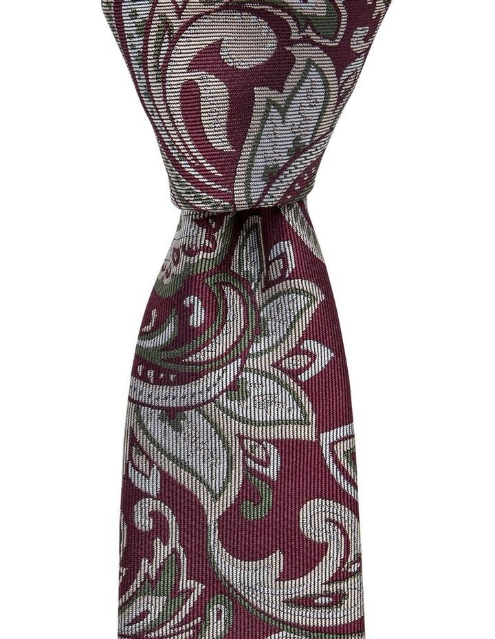 Large Paisley Silk Tie image 1