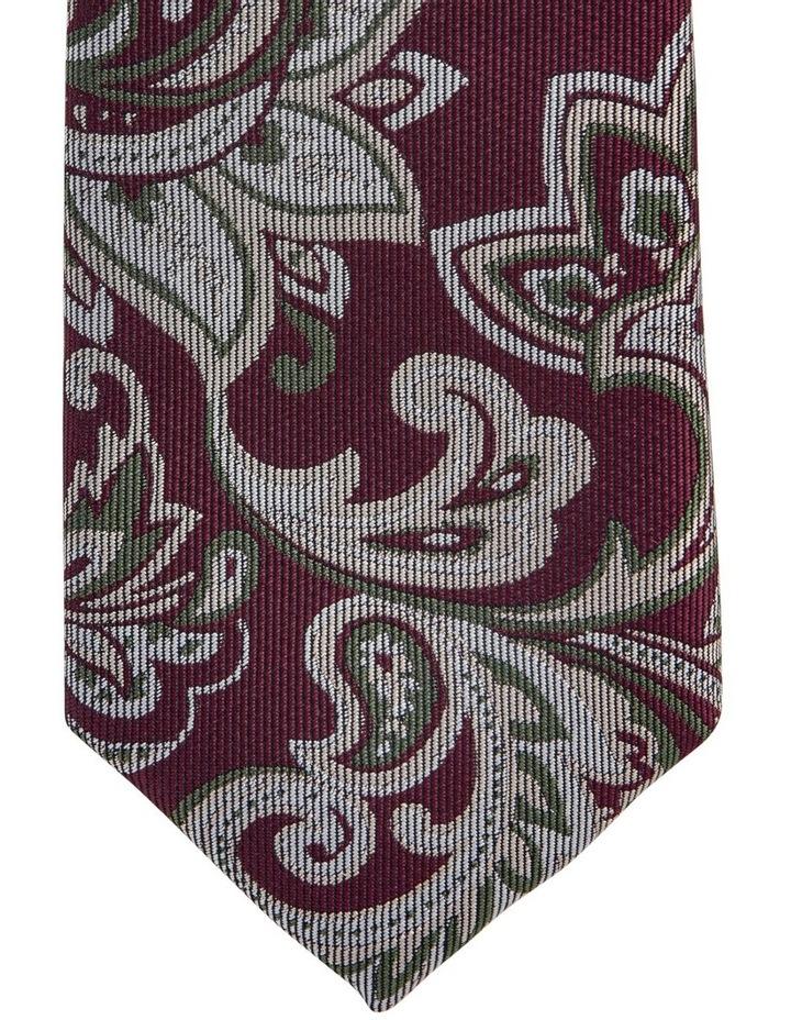 Large Paisley Silk Tie image 2