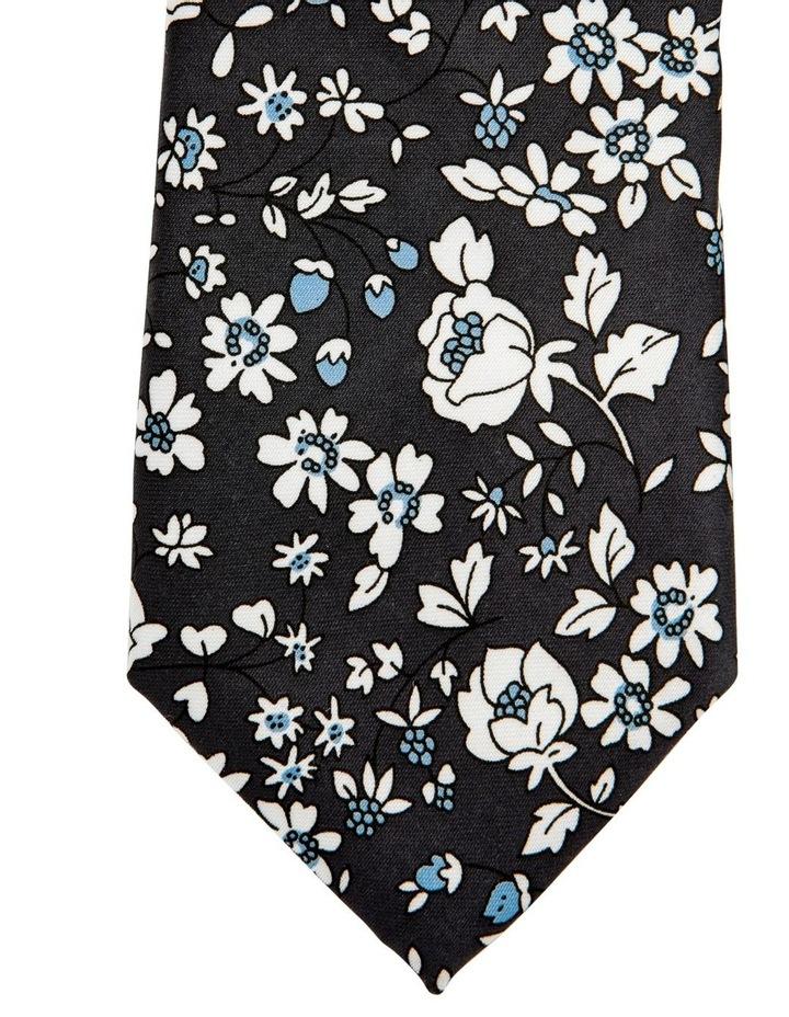 Floral Tie Grey image 2