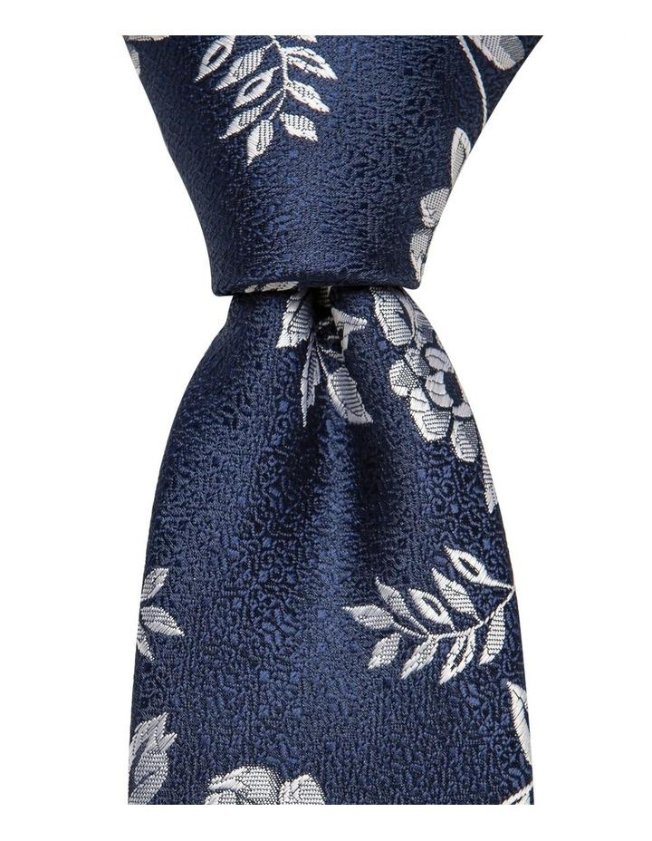 Floral Tie Navy image 1