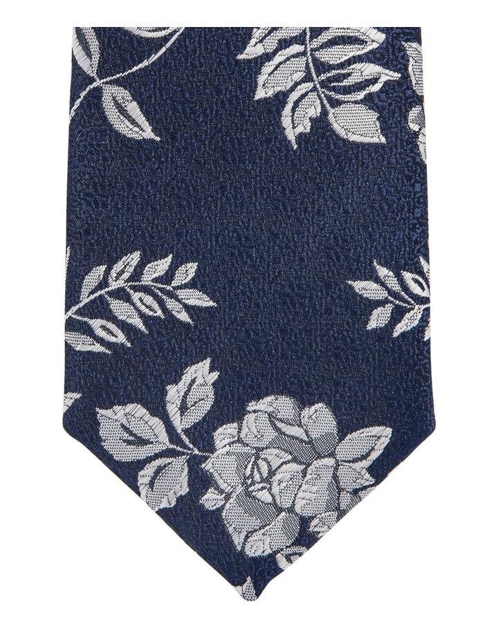 Floral Tie Navy image 2