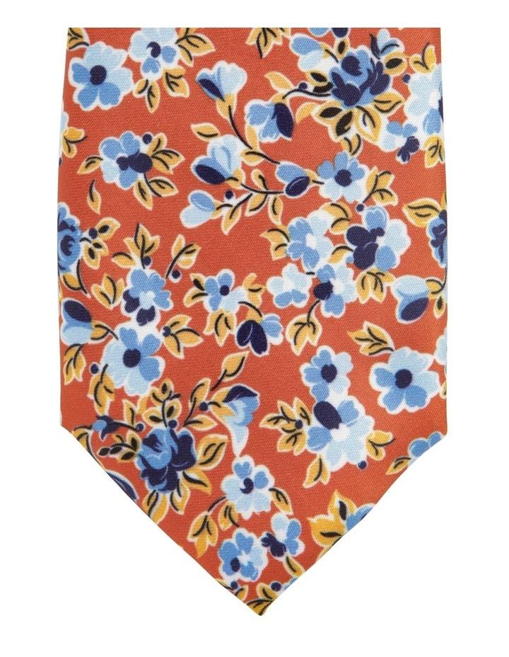 Floral Tie Rust image 2