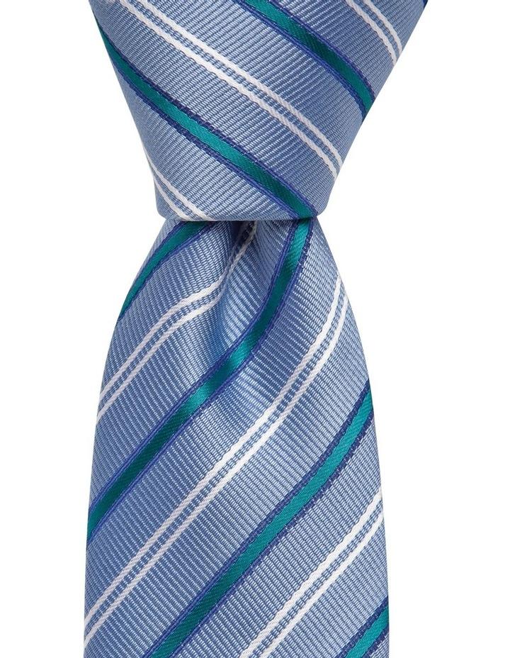 Stripe Tie Teal image 1
