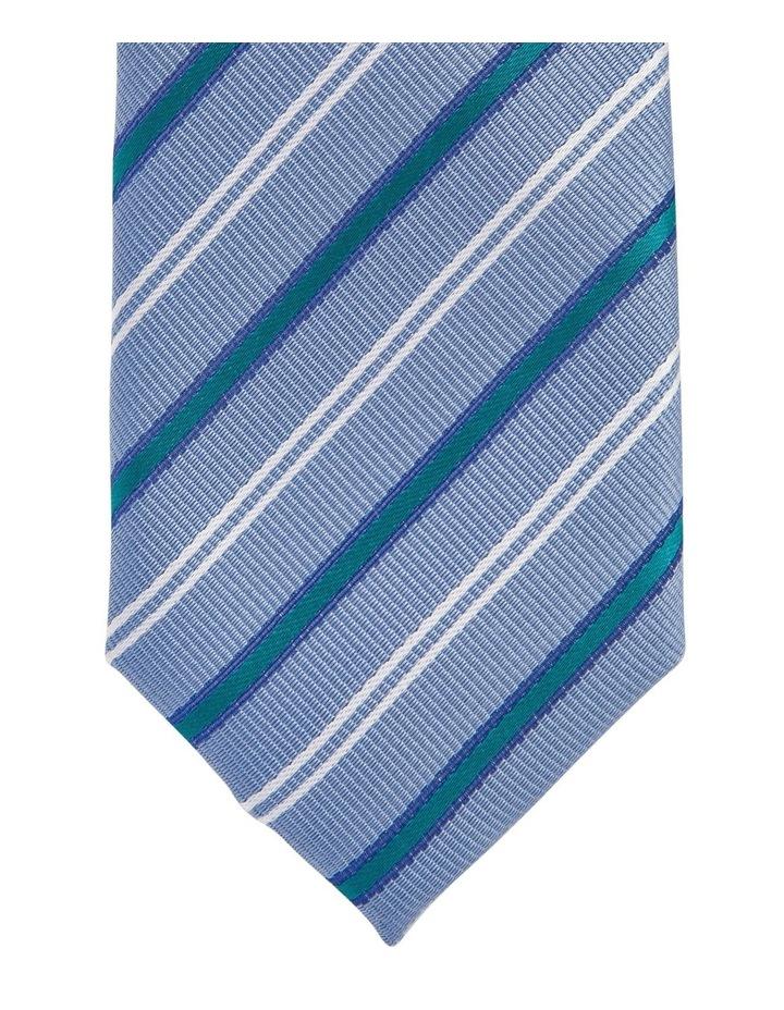 Stripe Tie Teal image 2