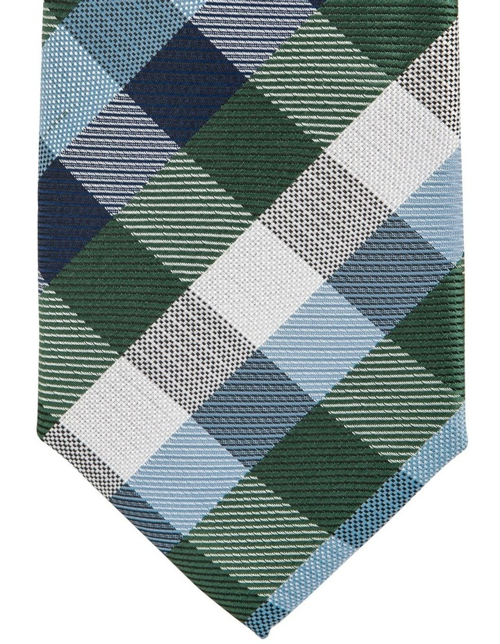 Check Tie Teal image 2