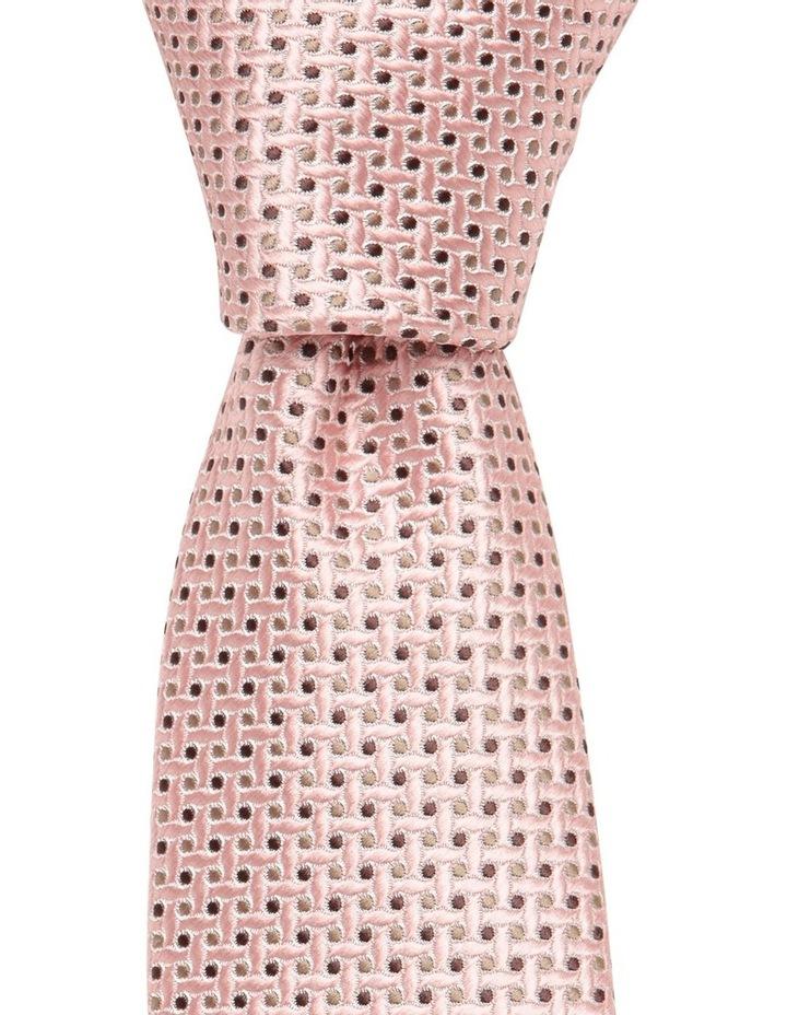Spot Tie Dusty Pink image 1