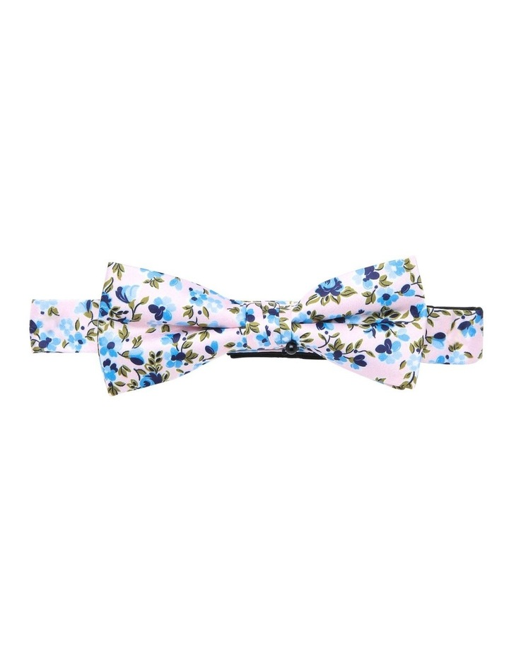 Floral Bow Tie Pink image 1