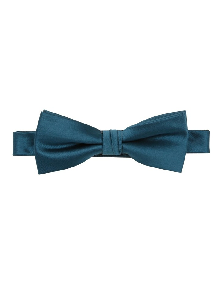 Satin Bow Tie Teal image 1
