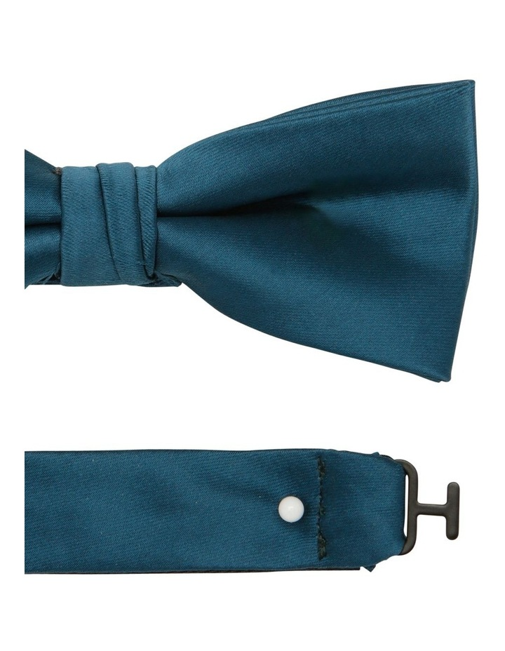 Satin Bow Tie Teal image 2