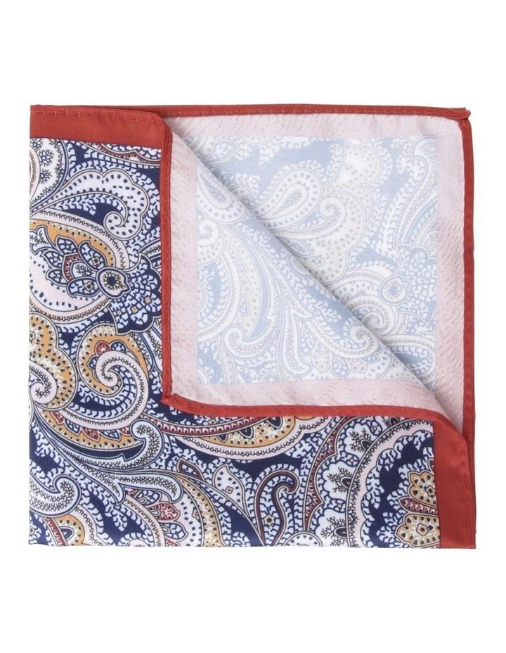 Paisley Pocket Square Orange image 1