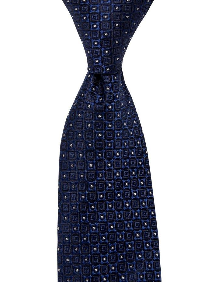 Geometric Silk Tie image 1