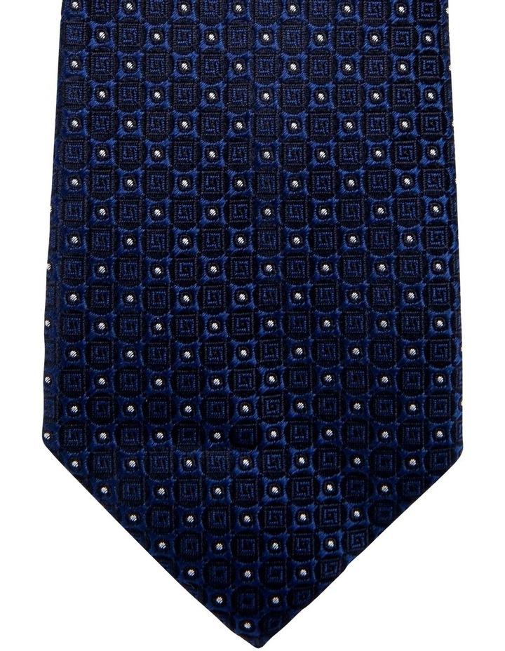 Geometric Silk Tie image 2