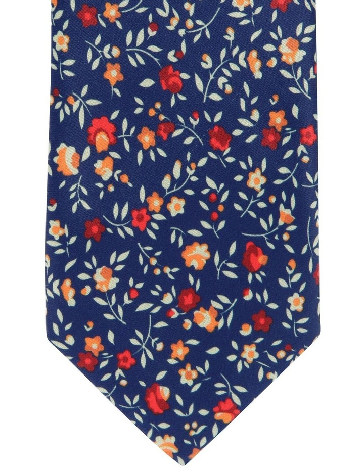 Blaq Small Floral Tie image 2