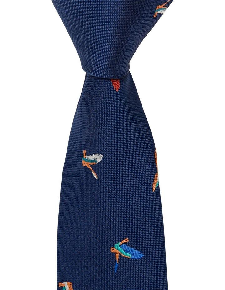 Flying Bird Pattern Tie image 1