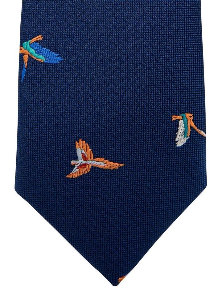 Flying Bird Pattern Tie image 2