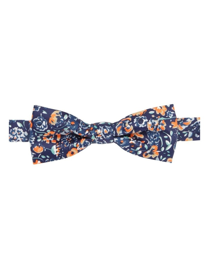 Floral Bow Tie Navy image 1