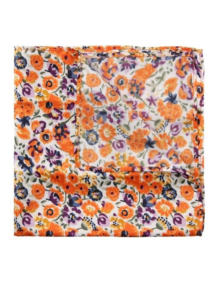 Blaq Floral Pocket Square image 1