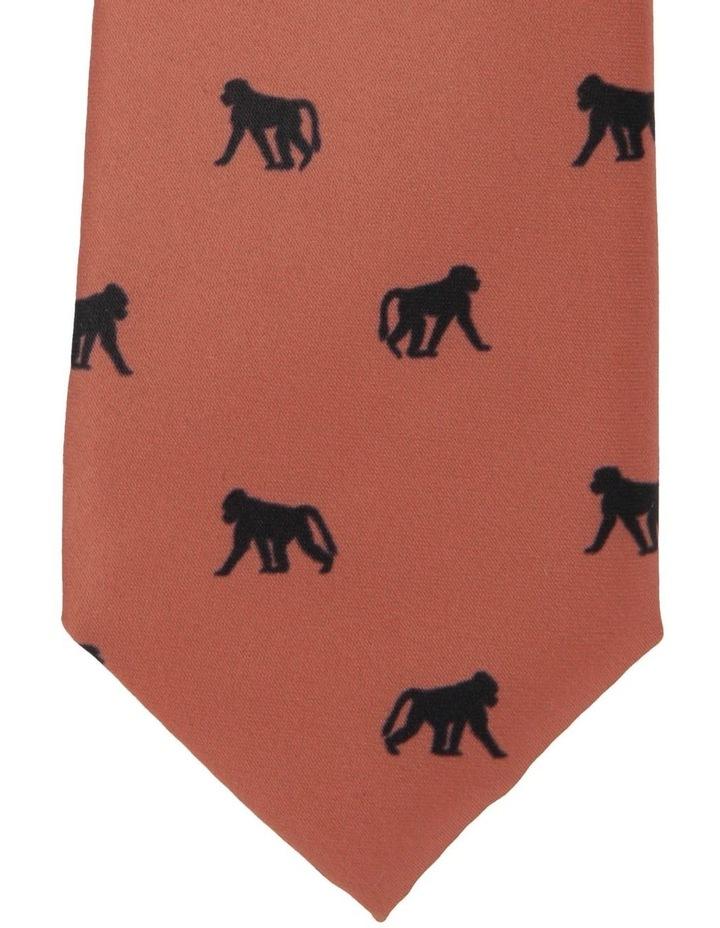 Cheeky Monkey Print Tie image 2