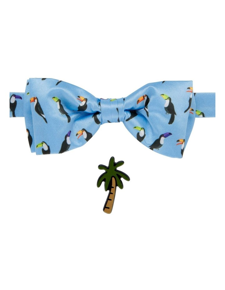 Toucan Bowtie And Palmtree Pin Set image 1