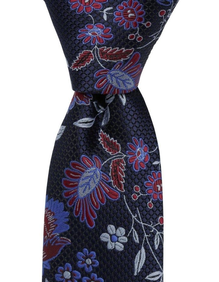 Blaq Floral Tie Blue image 1