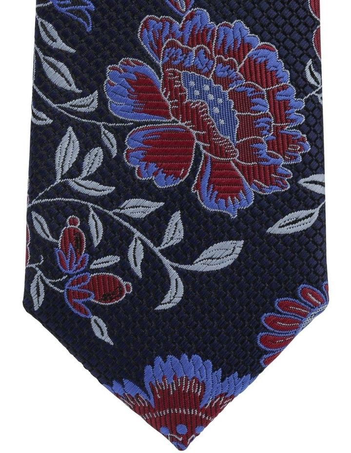 Blaq Floral Tie Blue image 2