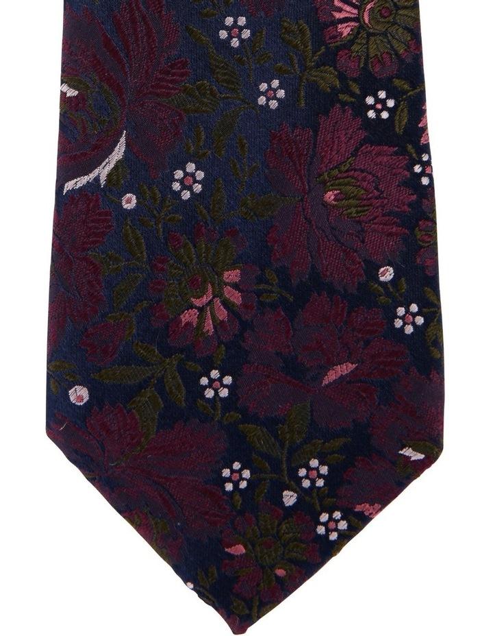 Floral Silk Tie image 2
