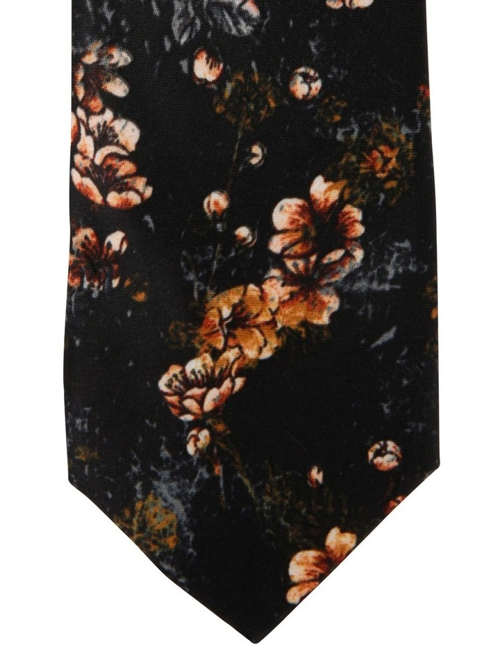 Floral Falcon Print Tie image 2