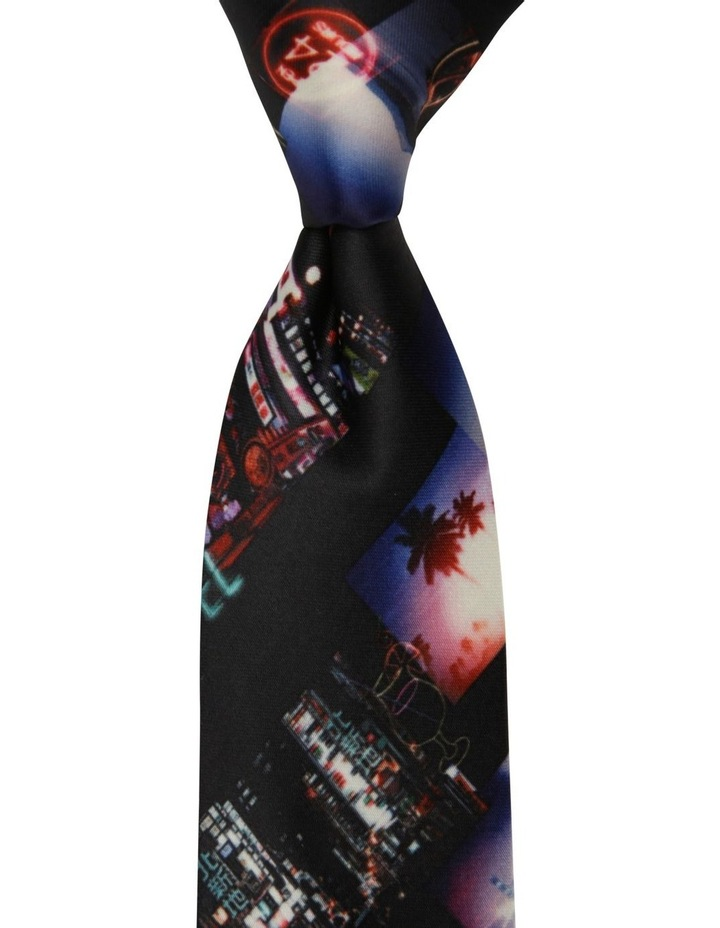 Nightlights Print Tie image 1