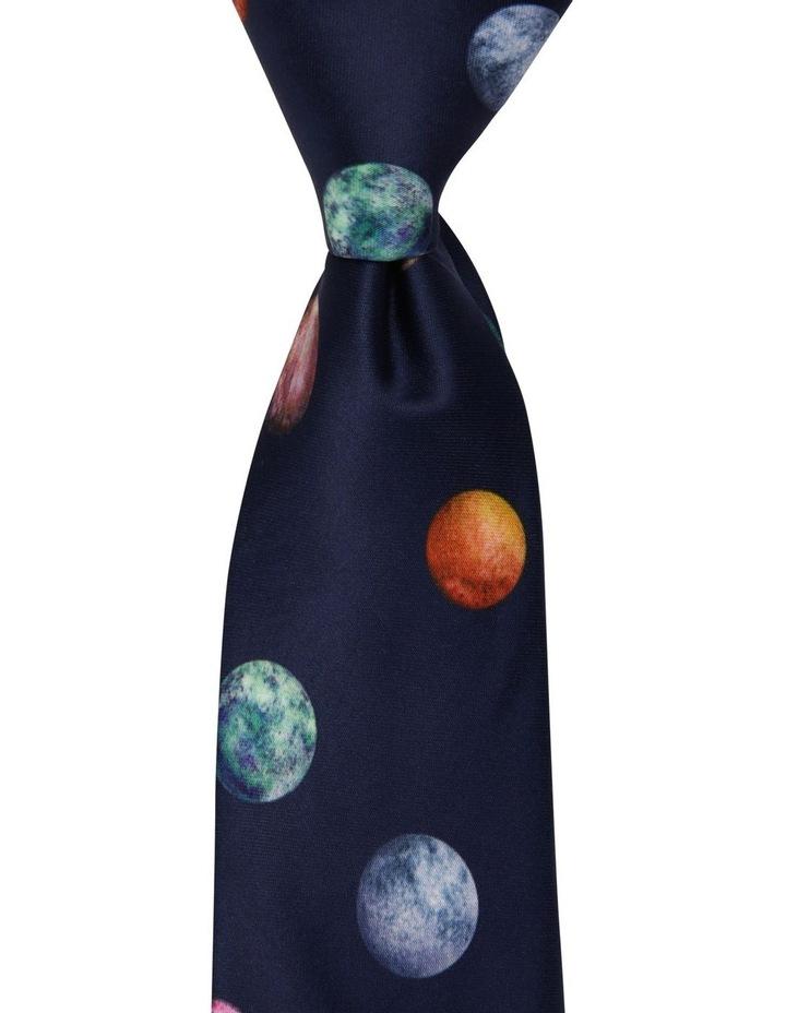 Planets Print Tie image 1