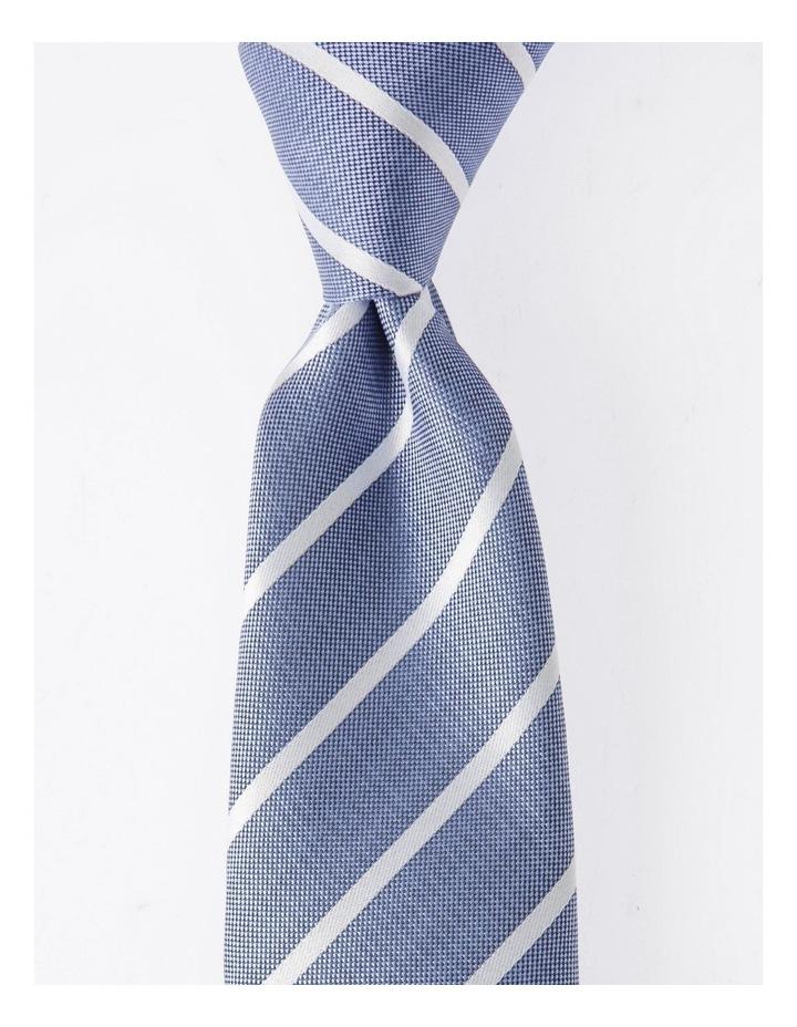 Blaq Blue Stripe Tie image 1