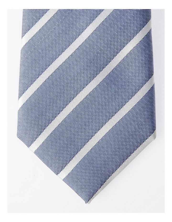 Blaq Blue Stripe Tie image 2