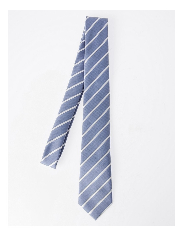 Blaq Blue Stripe Tie image 3