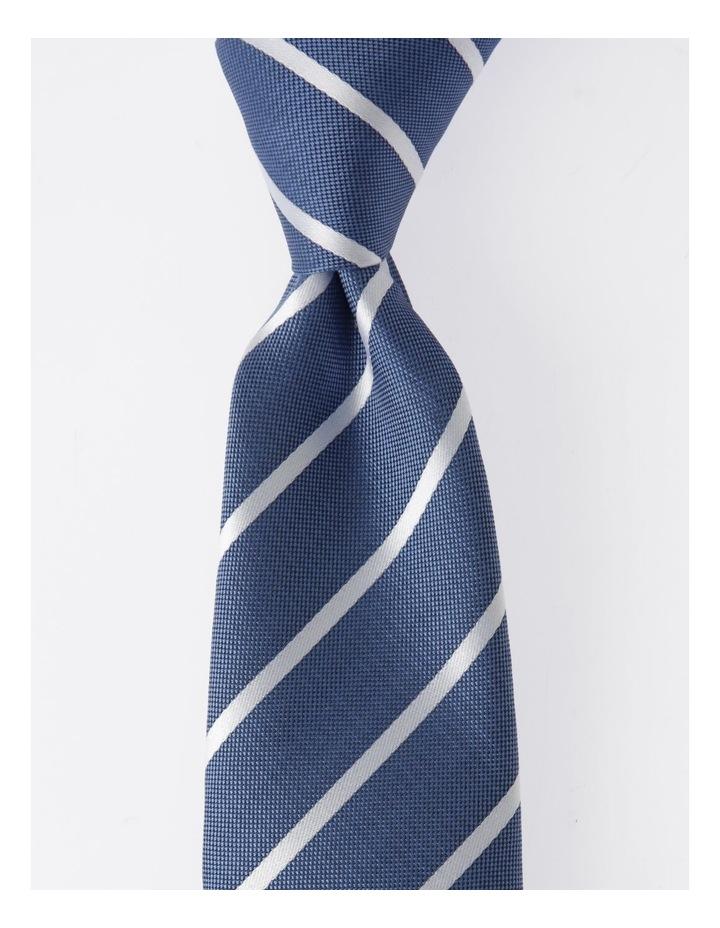 Blaq Navy Stripe Tie image 1