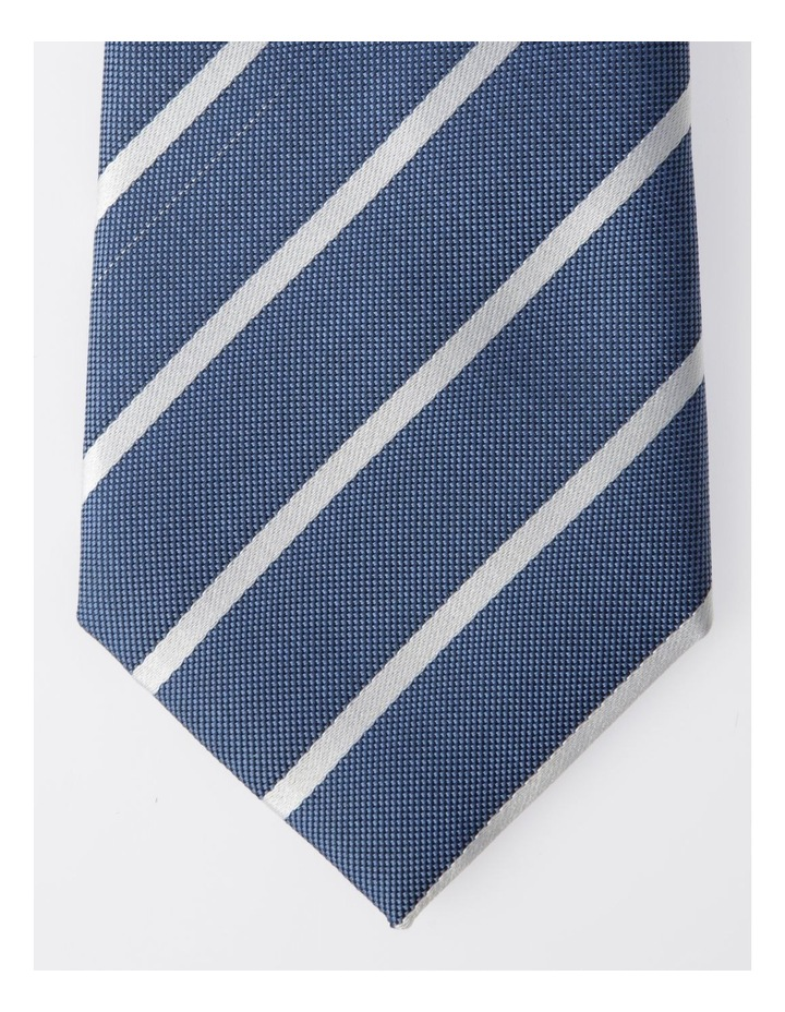 Blaq Navy Stripe Tie image 2