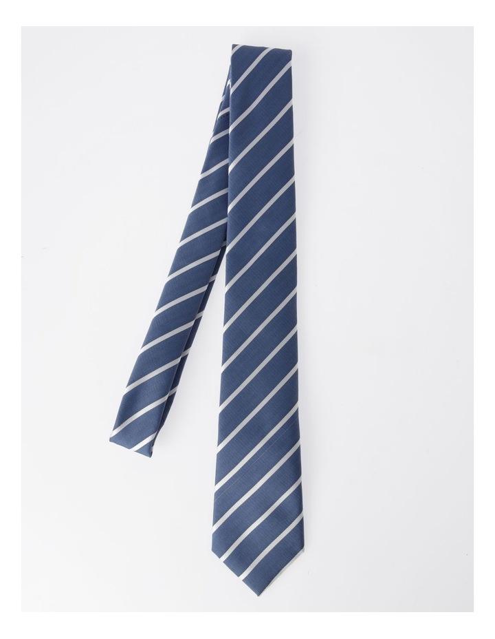 Blaq Navy Stripe Tie image 3