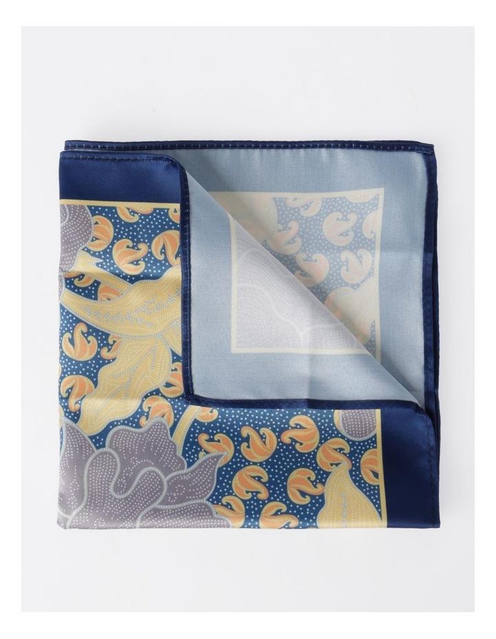 Floral Printed Pocket Square image 1