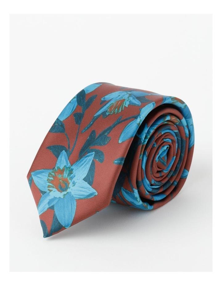 Empire Rose Print Tie image 4