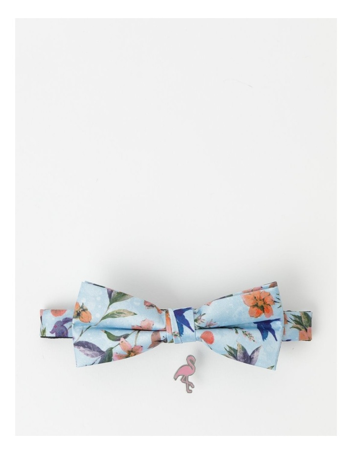 Delta Blues Print Bow Tie And Pin image 1