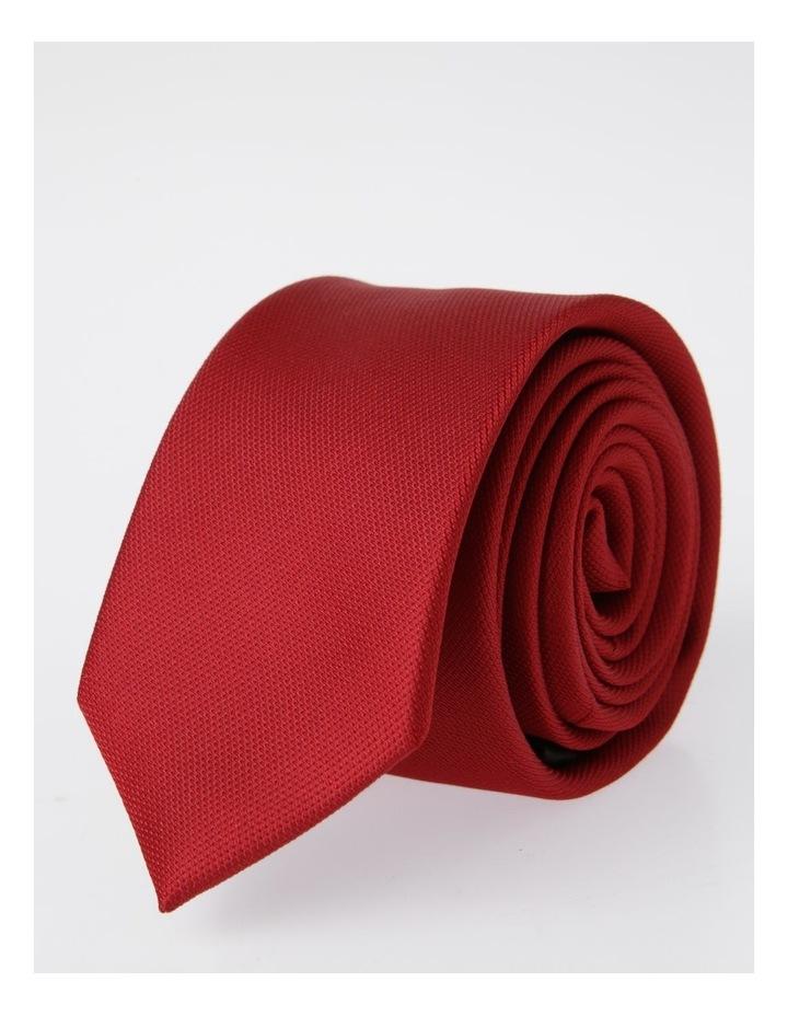 Kenji Skinny Tie Red image 4