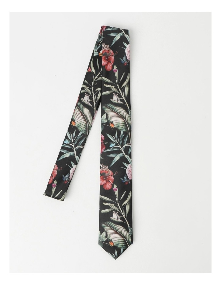 Forest Forager Print Neck Tie image 3