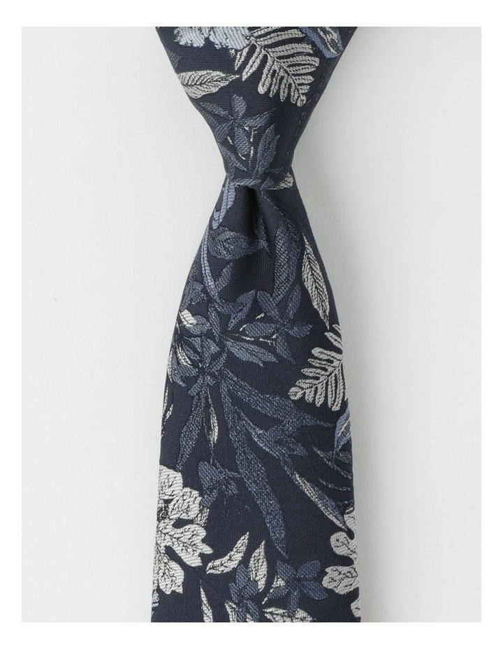 Large Floral Poly Tie image 1