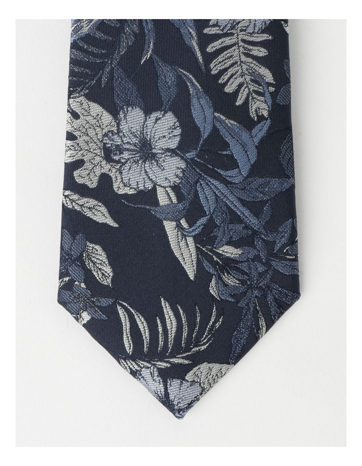 Large Floral Poly Tie image 2