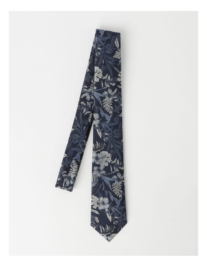 Large Floral Poly Tie image 3