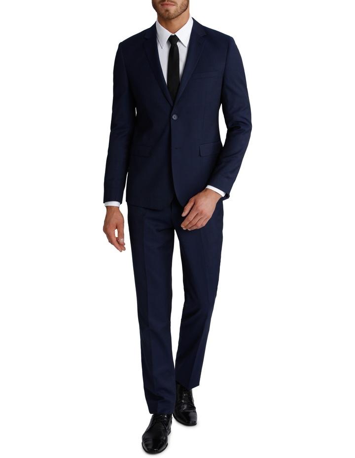 Slim Fit Blue Suit Jacket 3Q6400 image 2