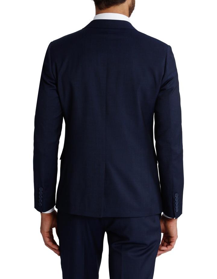Slim Fit Blue Suit Jacket 3Q6400 image 3