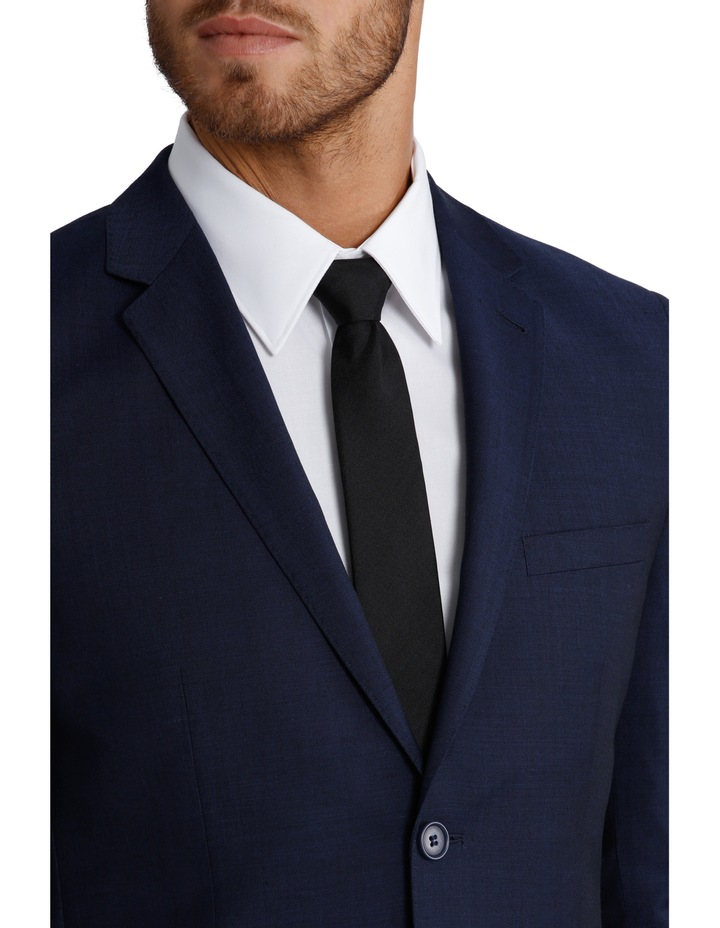 Slim Fit Blue Suit Jacket 3Q6400 image 4