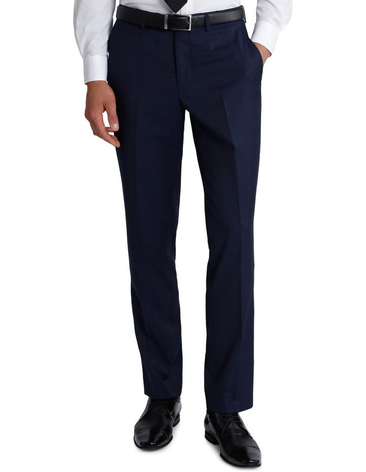 Slim Fit Blue Suit Trouser 3Q6400 image 1